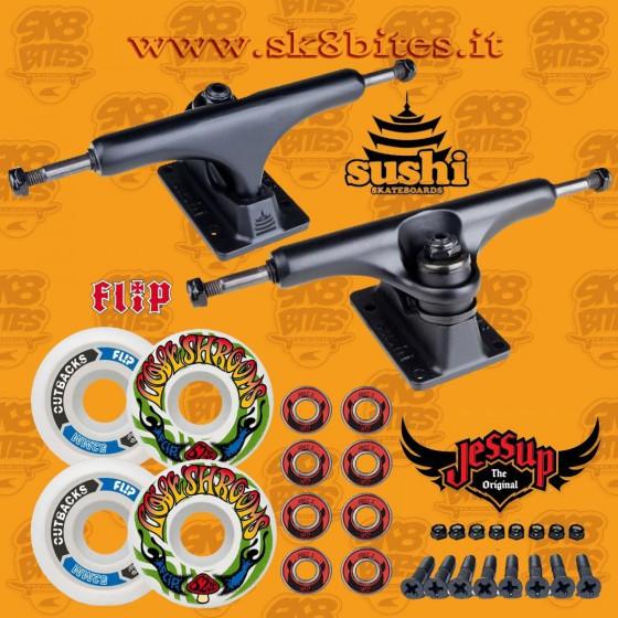 "Skate Component Kit - Sushi 5.25""  Skateboard Street"