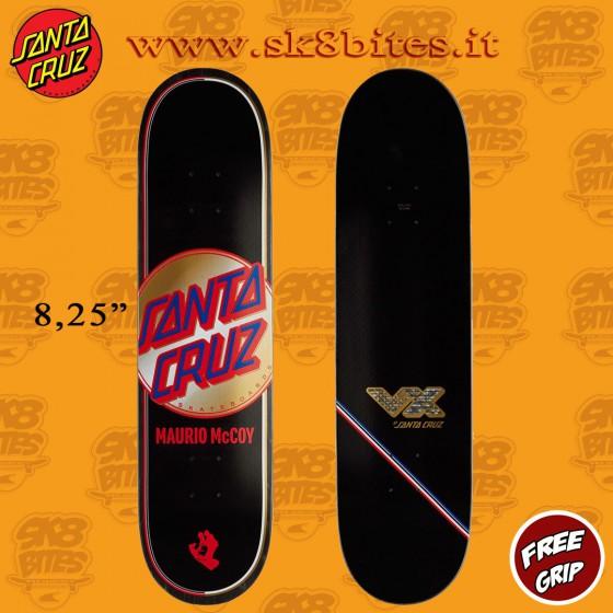 "Santa Cruz Pro McCoy Steady Fast Dot Vx 8,25"" Skateboard Street Pool Deck"