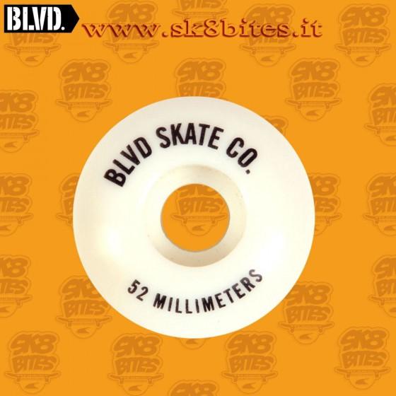 BLVD 52mm 100a Skateboard Street Pool Wheels