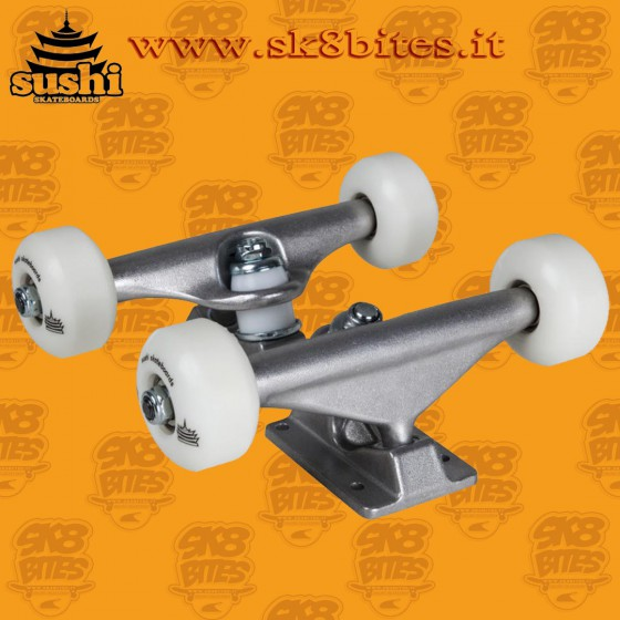 "Sushi Undercarriage Kit 5.25"" x 52mm  Skateboard Street Pool Trucks"