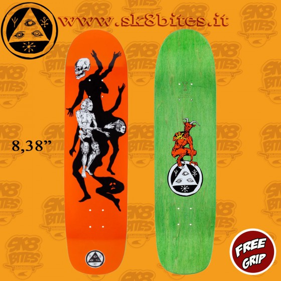 """Welcome Skateboards The Magician On Son Of Planchette 8,38"""" Skateboard Street Deck"""