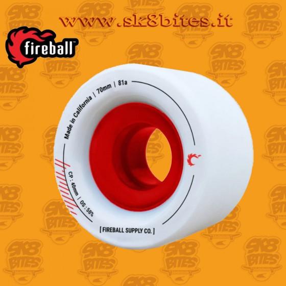 Fireball Tinder 70mm 81a Longboard Freeride Slide Freestyle Wheel