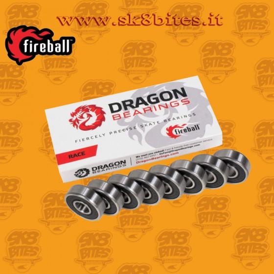 Fireball Dragon Race Skateboard Street Longboard Freeride Bearings