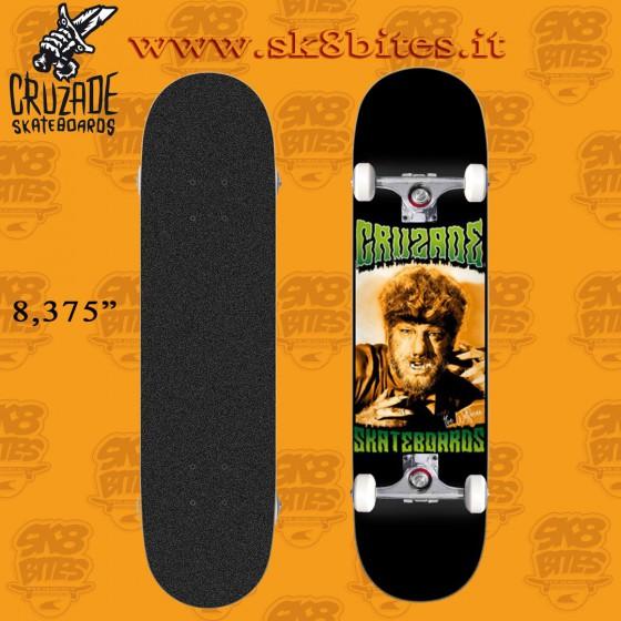 "Cruzade Serie B 8,375"" Complete Skateboard Street Pool Deck"