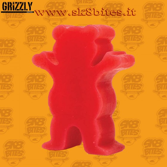 Grizzly Grease Wax Red Skateboard Street Pool