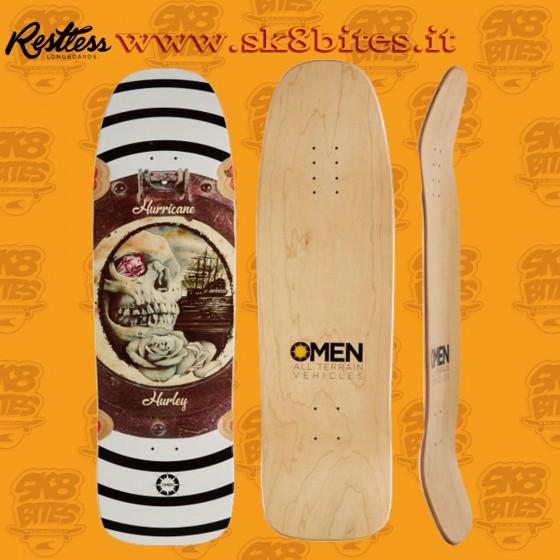 "Omen Captain Hurricane 9,75"" Skateboard Oldschool Creuising Deck"