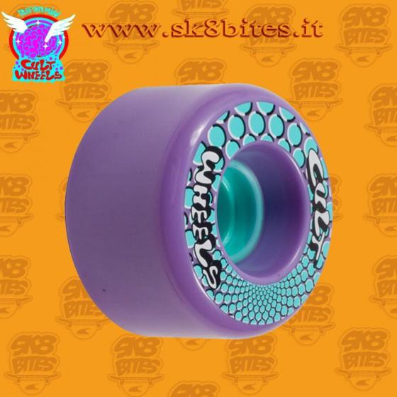 Cult ISM 63mm 85a Purple Longboard Freeride Slide Freestyle Wheel
