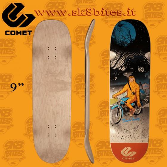 """Comet Marcus Bandy 9"""" Skateboard Oldschool Creuising Deck"""
