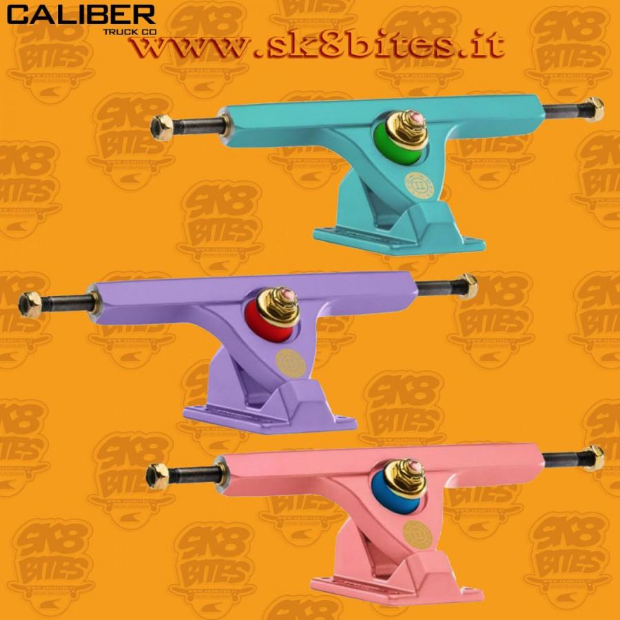 Caliber II Satin Pastel 50° Longboard Freeride Slide Truck
