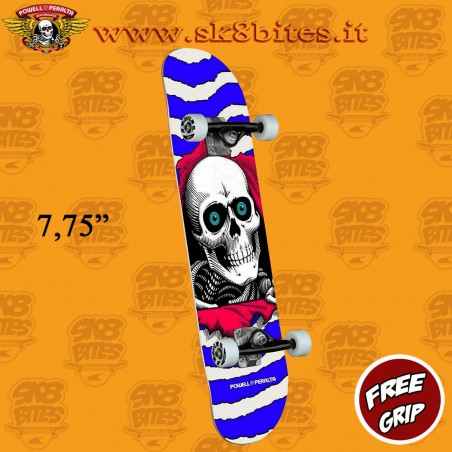 "Powell Peralta Ripper One Off Purple 7,75"" Complete Skateboars Street Deck"