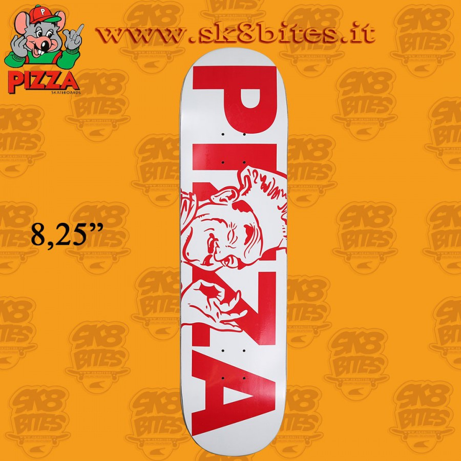 "Pizza Skateboards Chef Deck 8.25"" Skateboard Street Pool Deck"