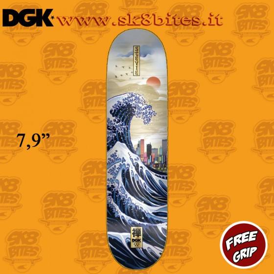 """DGK Skateboards Zen Williams 7,9"""" Skateboard Street Pool Deck"""