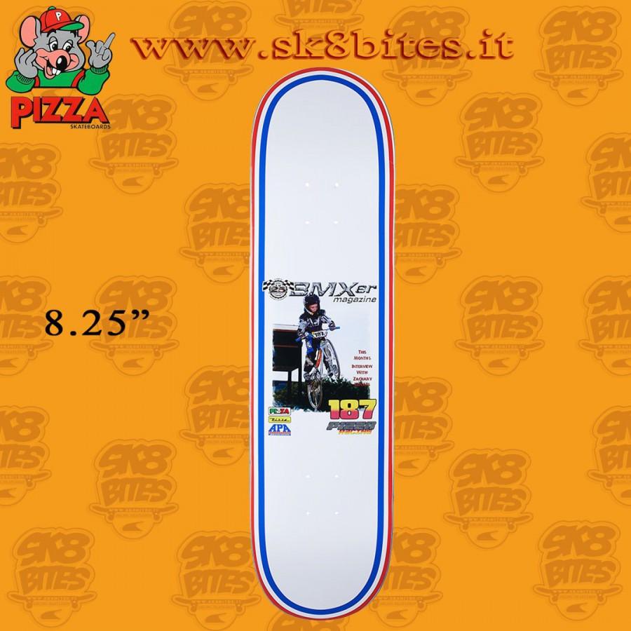 "Pizza Skateboards Ducky BMXer Deck 8.25"" Skateboard Street Pool Deck"