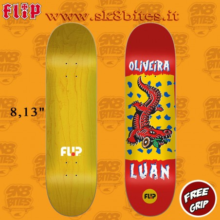 "Flip Luan Tin Toys 8.13"" Skateboard Street Pool Deck"