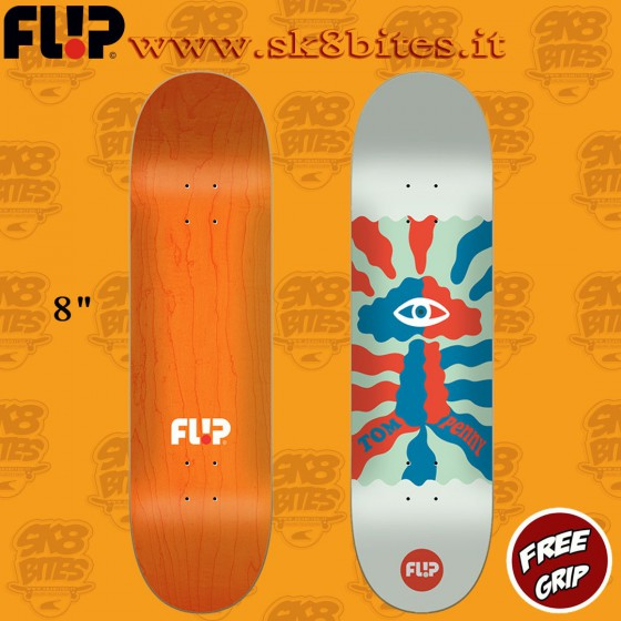 """Flip Block Penny 8"""" Skateboard Street Pool Deck"""