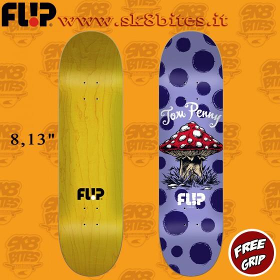 """Flip Dots Reboot 8,13"""" Skateboard Street Pool Deck"""