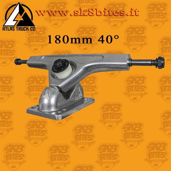 Atlas 180mm 40° Raw Longboard Freeride Trucks