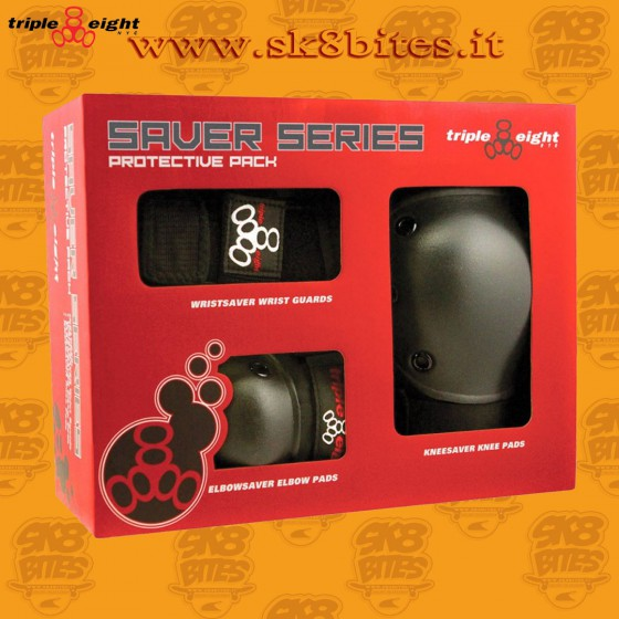 Triple Eight Saver Series Skateboard Street Skatepark Knee Elbow Pads