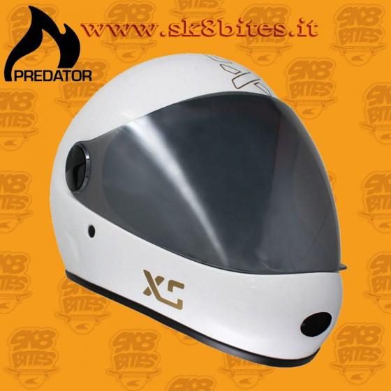 Predator DH6-XG White Longboard Bike Freeride Downhill Helmet