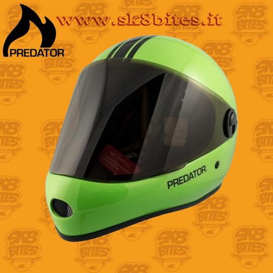 Predator DH6 Lime Longboard Downhill Freeride Helmet
