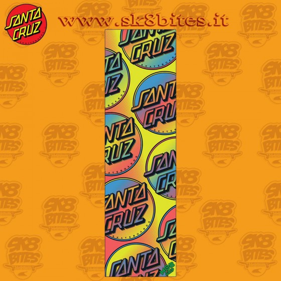 Mob Griptape Santa Cruz Contra Allover 9in x 33in Graphic Skateboard Grip