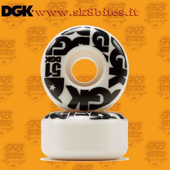 DGK Street Formula 51mm Skateboard Street Pool Wheels