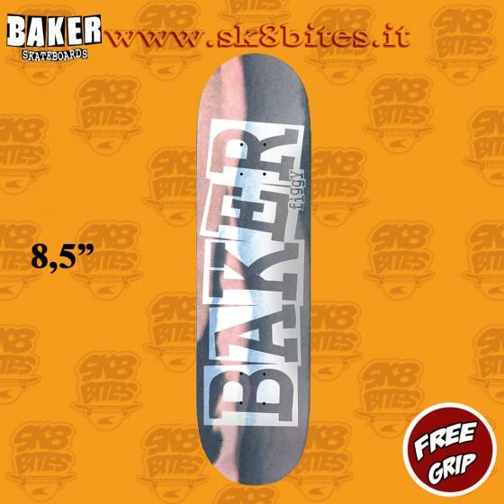 "Baker Figgy Ribbon Time Flies 8,5"" Skateboard Street Pool Deck"