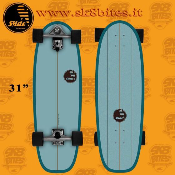Slide Surfskate Gussie Spot 31″ Tavola Completa Surfskate Carving Cruising