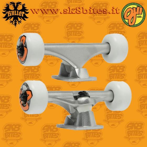 Bullet Trucks Og Logo Wheels Assembly Kit Set Up Skateboard Street Pool Trucks Wheels