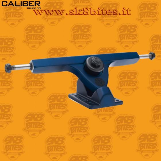 "Caliber II 10"" Midnight Satin Blue 44° Trucks Longboard Freeride Slide CruisingTrucks"