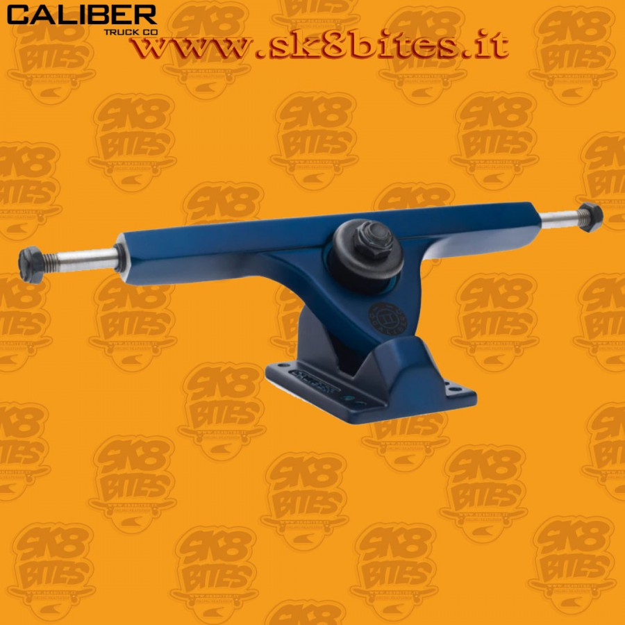 "Caliber II 10"" Midnight Satin Blue 50° Trucks Longboard Freeride Slide CruisingTrucks"