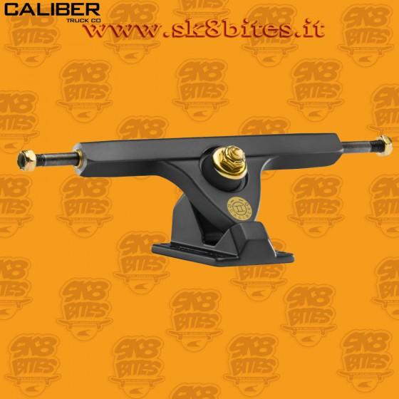 "Caliber II 10"" Satin Smoke 44° Trucks Longboard Freeride Slide CruisingTrucks"