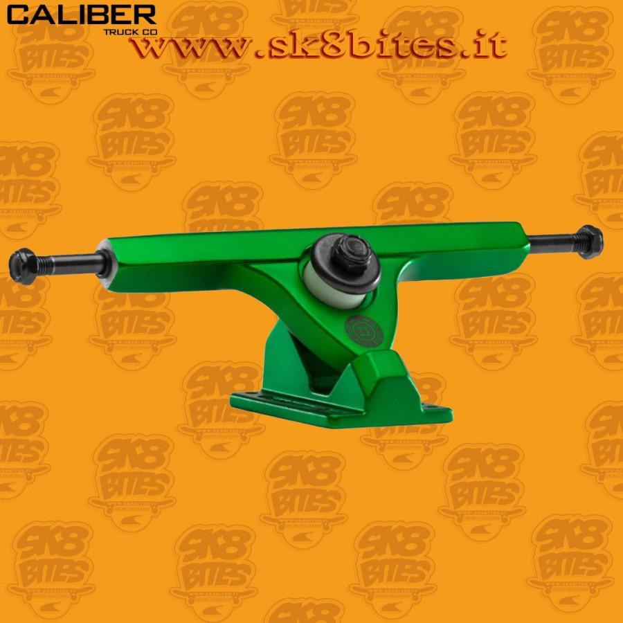 "Caliber II 10"" Midnight Satin Green 50° Trucks Longboard Freeride Slide CruisingTrucks"