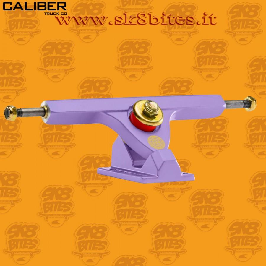 "Caliber II 10"" Pastel Lavender 44° Trucks Longboard Freeride Slide CruisingTrucks"