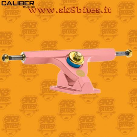 "Caliber II 10"" Pastel Coral 44° Trucks Longboard Freeride Slide CruisingTrucks"