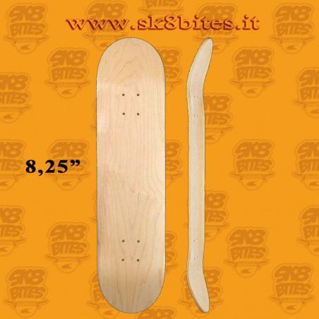 "Blank Deck 8.25"" Skateboard Street Pool Deck"