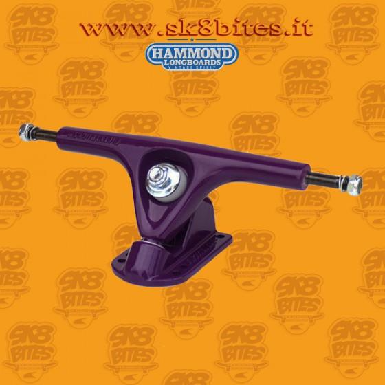 Hammond Fifty Purple 180mm 50° Trucks Longboard Freeride Slide CruisingTrucks
