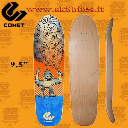 "Comet Shred City 35"" Skateboard Oldschool Creuising Deck"
