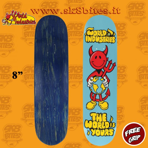"World Industries Tide Pods 8,25"" Skateboard Street Pool Deck"