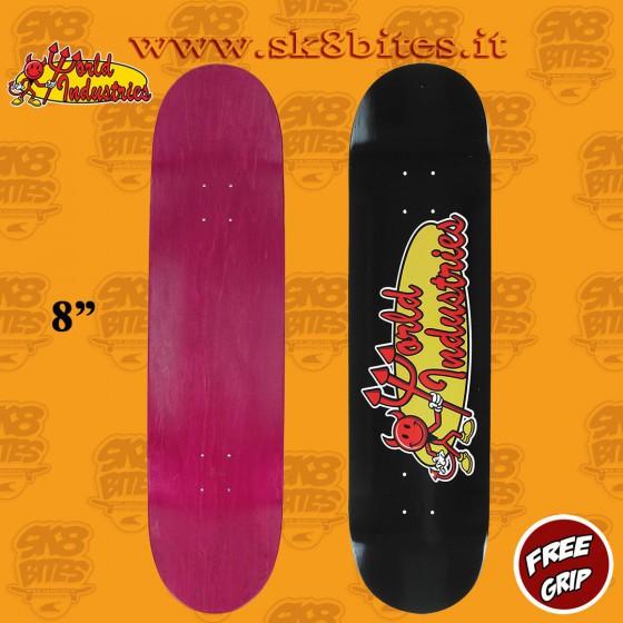 "World Industries Devil OG 8"" Skateboard Street Pool Deck"