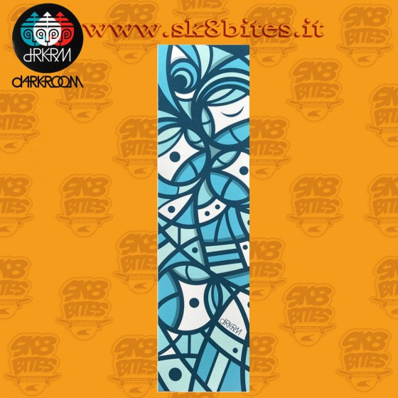 Darkroom Fractal 9in x 33in Graphic Skateboard Grip