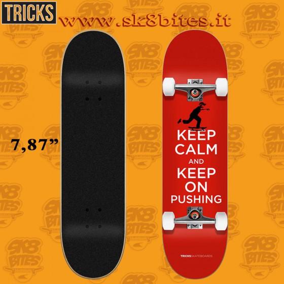 "Tricks Calm 7.87"" Complete Street Skateboard Deck"