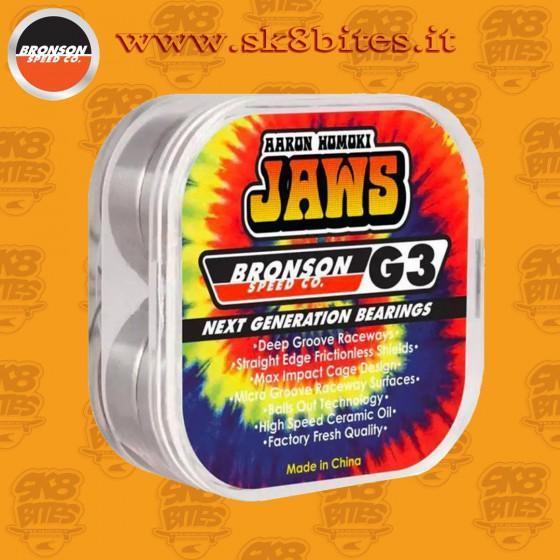 Bronson Speed Co Aaron Jaws Homoki Pro G3 Skateboard Street Pool Bearings