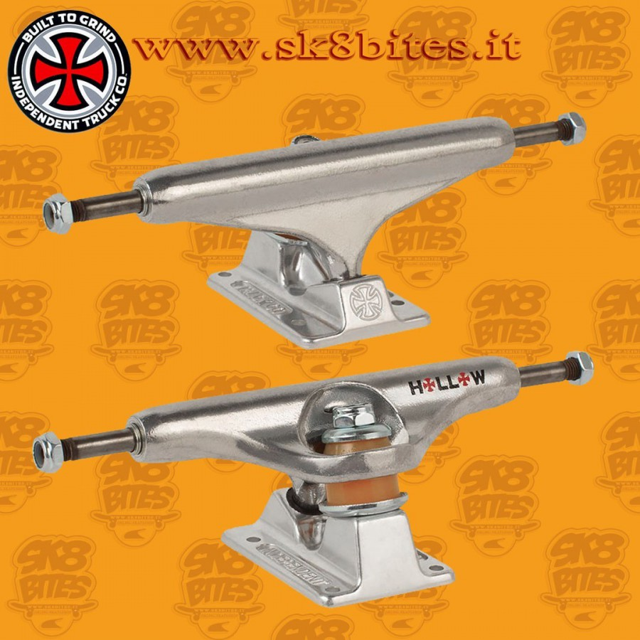 Independent Stage 11 Forged Hollow Silver 149mm Skateboard Street Trucks