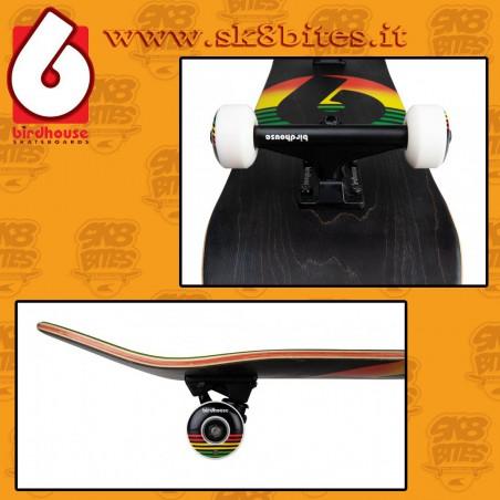 "Birdhouse Stage 3 B Logo Navy Red 7,75"" Complete Skateboard Street Deck"