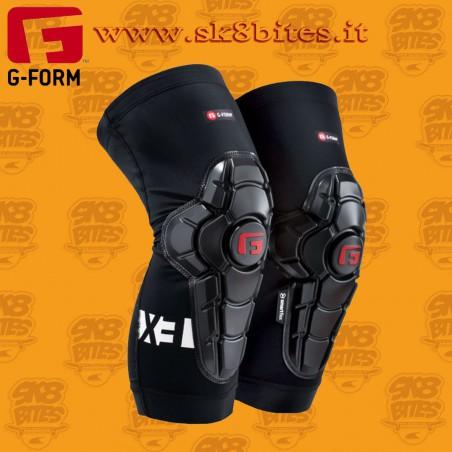G-Form Pro-X3 Youth Knee Guard Black Longboard Skateboard Skates Bike Pads