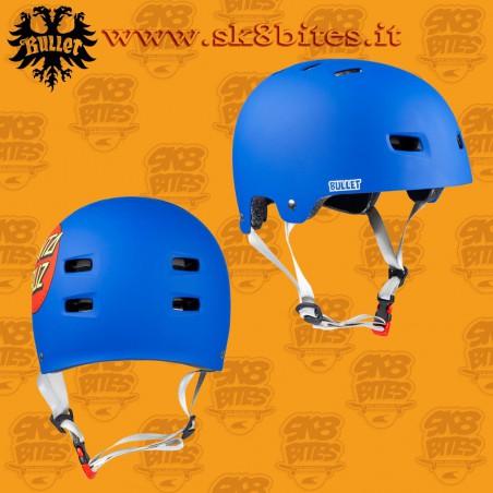 Bullet x Santa Cruz Classic Dot Adult S/M Skateboard Street Longboard Cruising Helmet