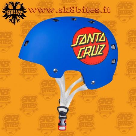 Bullet x Santa Cruz Classic Dot Adult L/XL Skateboard Street Longboard Cruising Helmet