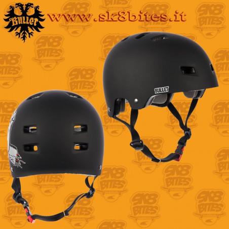 Bullet x Santa Cruz Screaming Hand Adult S/M Skateboard Street Longboard Cruising Helmet