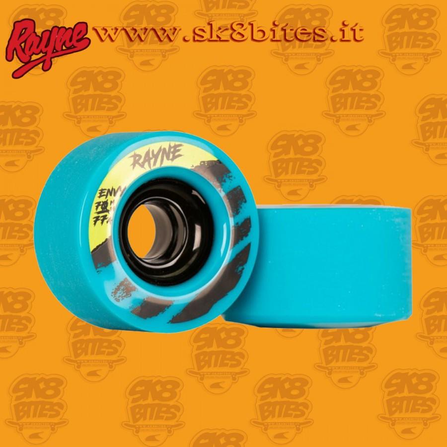 Rayne Envy V2 Blue 70mm 77a Longboard Freeride Slide Freestyle Wheel